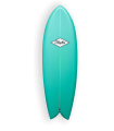 Surfboard Clayton Retro Fish