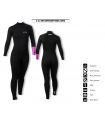PREMIUM WETSUITS 3/2.5 MM SUPERCOMP MODEL TAPED MUJER
