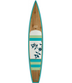 """12'6 OXBOW GLIDE x 27"""" Bamboo Paddle Tour"""