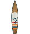 """12'6 OXBOW GLIDE x 29"""" Bamboo Paddle Tour"""