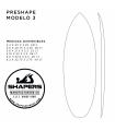 Preshape Surfboard Modelo 3