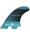 Quillas FCS 2 Performer Neo Glass Quad Fins M
