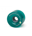Roundhouse Wheels - Ecothane 70mm Aqua Concaves (81A)