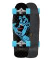 "Surfskate Carver Santa Cruz Screaming Hand Check 30.2"" C5"