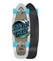 """Surfskate Carver Santa Cruz Wave Dot Cut Back 29.95"""" C5"""