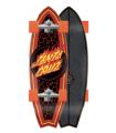 """Surfskate Carver Santa Cruz Flame Dot Shark 31"""" C5"""