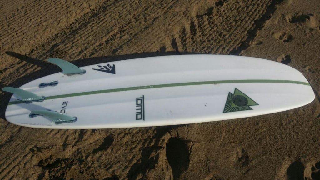 Tabla surf Evo Firewire opinion