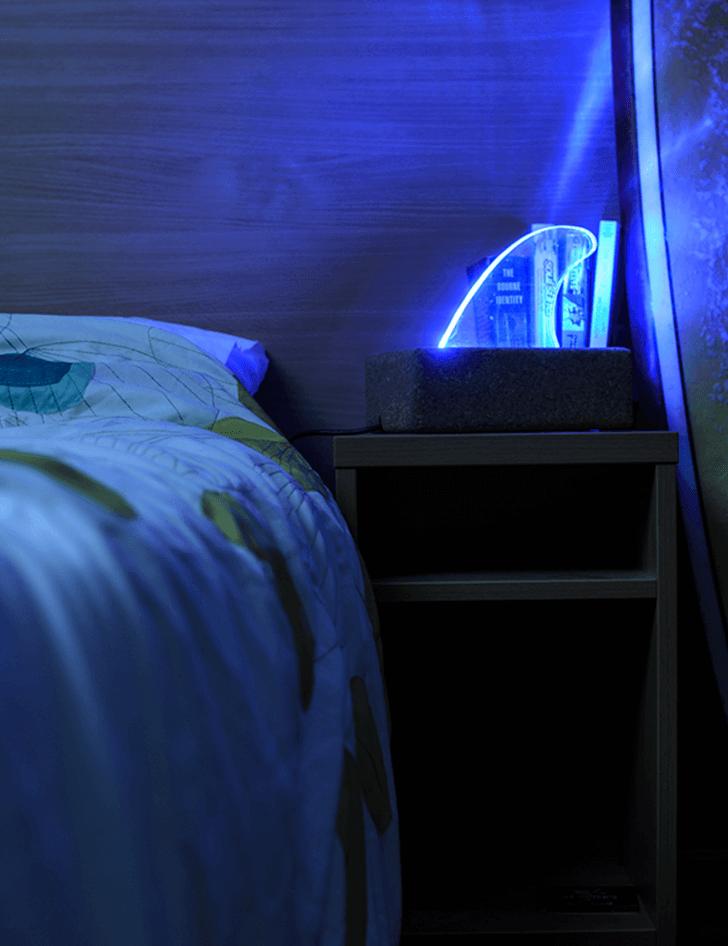 lampara despertador swell