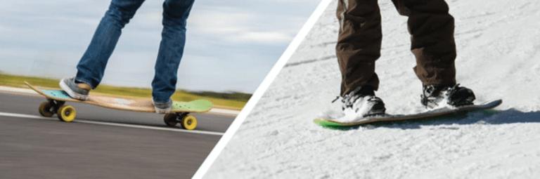 Skate & Snowboard 2 en 1
