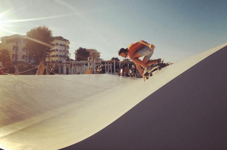 Maniobras surfskate
