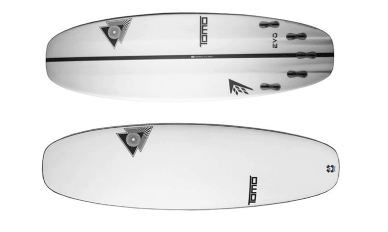 Most sold surfboards Evo FireWire