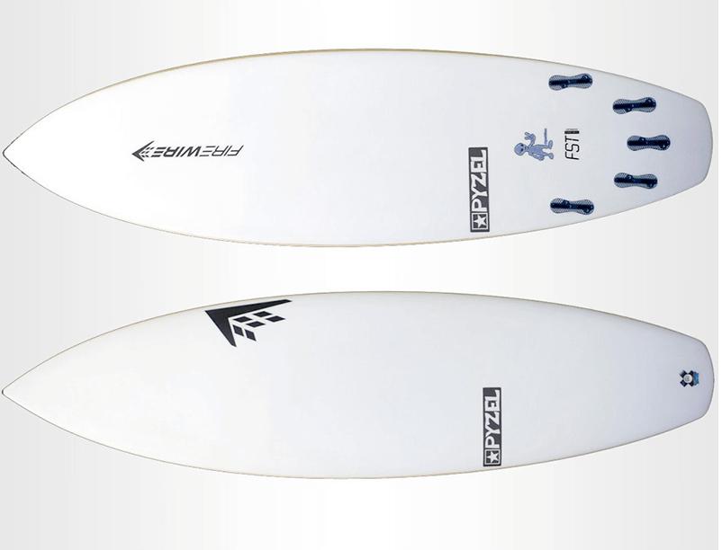 Most sold surfboards Pyzalien FireWire