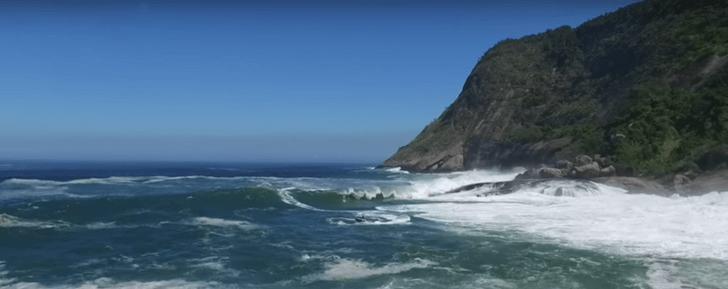 Una de las olas más temidas de Brasil