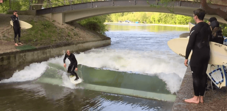 Riversurfing en Münich