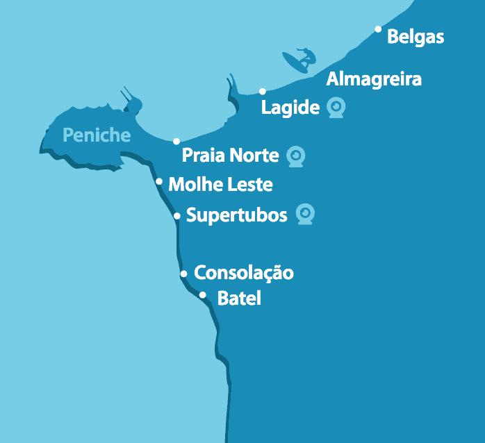 Spots in Peniche