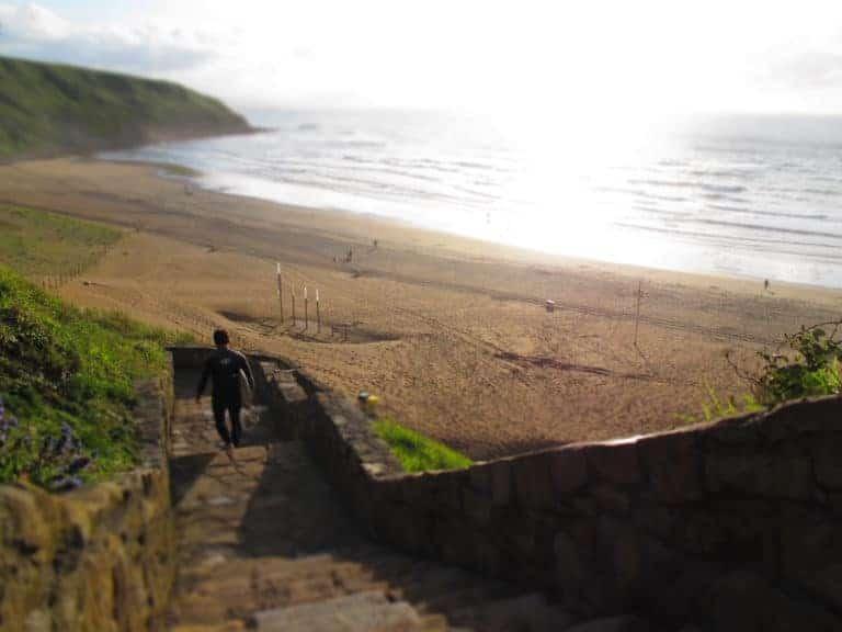 Las 5 mejores playas del Pais Vasco para aprender a surfear