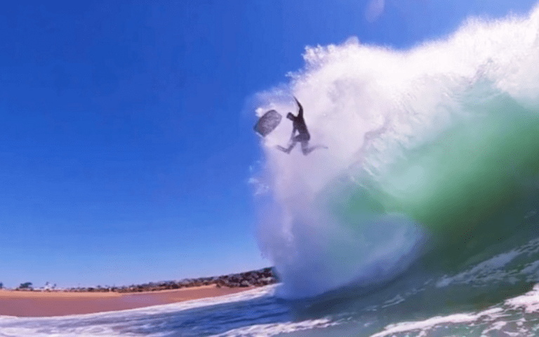 Los wipeouts más insanos en The Wedge