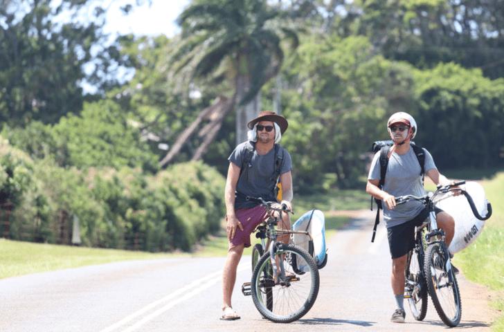 Sin dinero, sin coche, sin teléfono… sólo surf!
