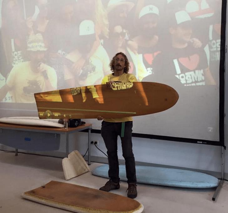 Entrevista al hijo del Surf, Ahau durante el Cosmic Children Festival de Liencres