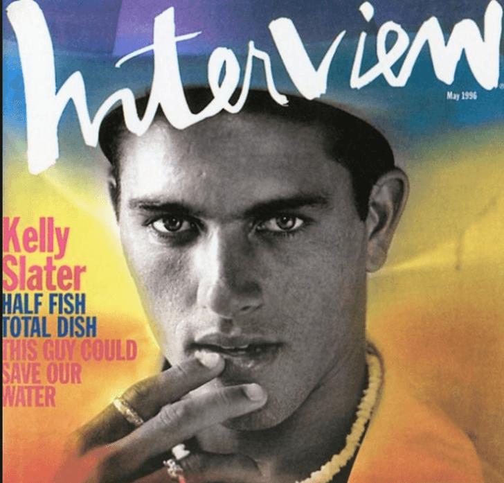 Kelly Slater hace 25 años en Cloudbreak
