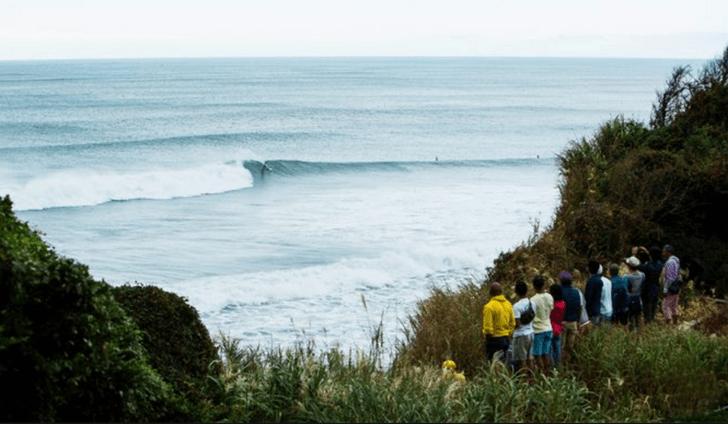 Tres olas de inmenso potencial en el peligro