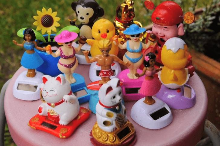 El coleccionista de juguetes de surf