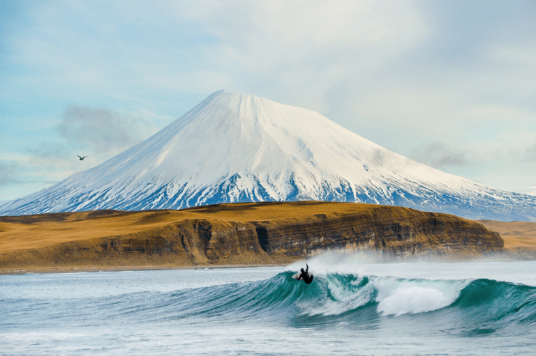 Chris Burkard: ¿cuál es tu escenario ideal de surf?