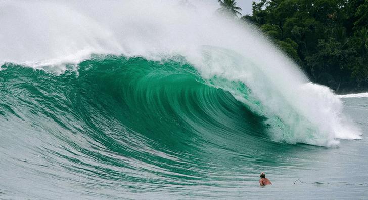 Dos leyendas del surf y la perfección panameña