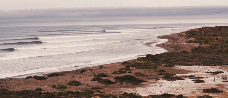 44 días de viaje, más de 180 km y mucho surfing