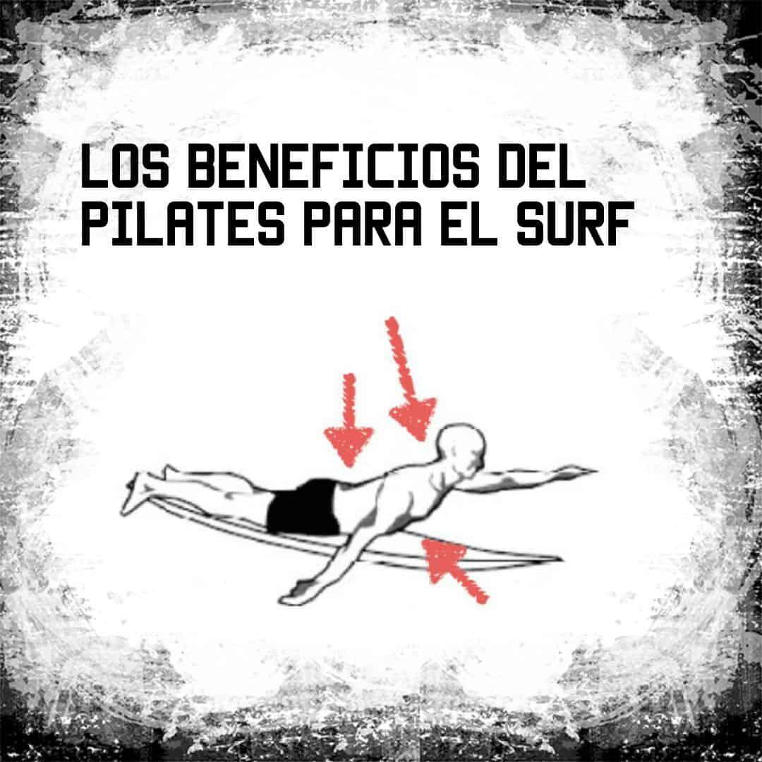 Los beneficios de Pilates para el Surf