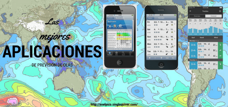 5 aplicaciones de previsión de olas que no te pueden faltar
