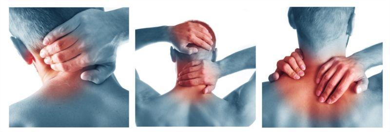 lesion cuello y columna vertebral