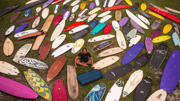 ¿Cómo escoger una tabla de surf de segunda mano?