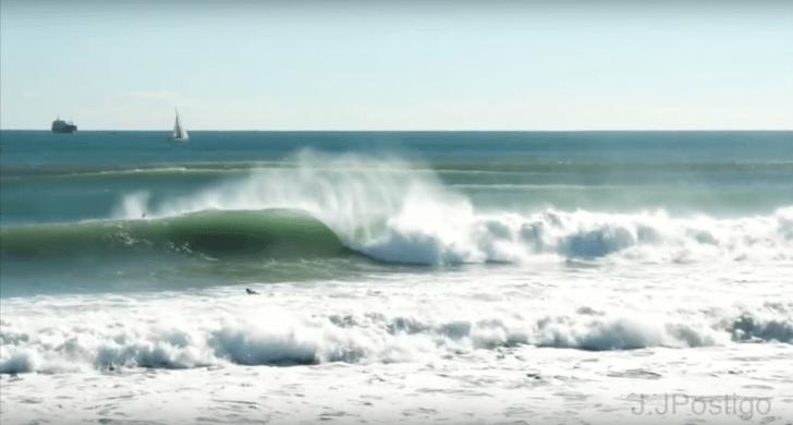 Surfing épico en el Mediterráneo: Valencia