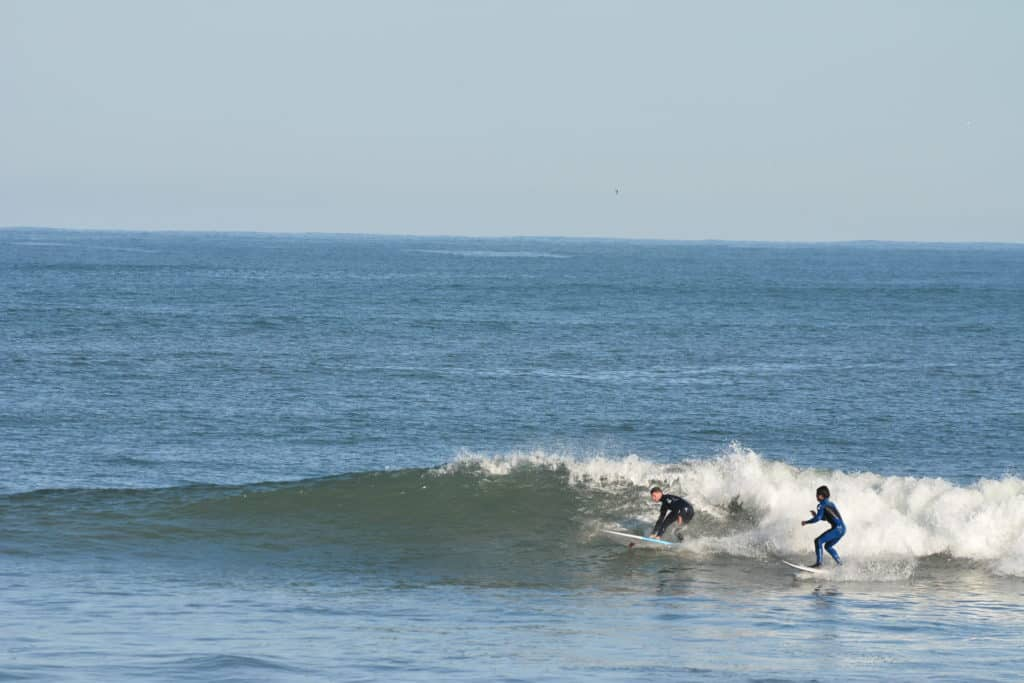 Saltar olas