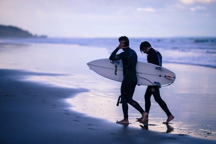 Anatomía de una tabla de surf: la cola / tail
