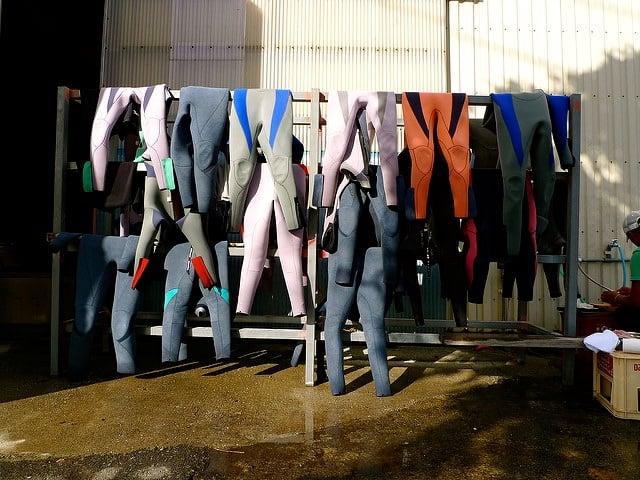 7 consejos para conservar tu traje de neopreno