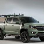El truck edición especial para surfistas de Hurley & Chevrolet