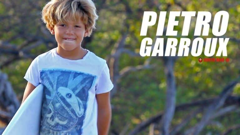 El futuro del surfing brasileño se llama Pietro Garroux