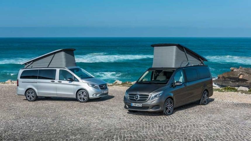 ¿Las furgonetas de Mercedes para surfistas?