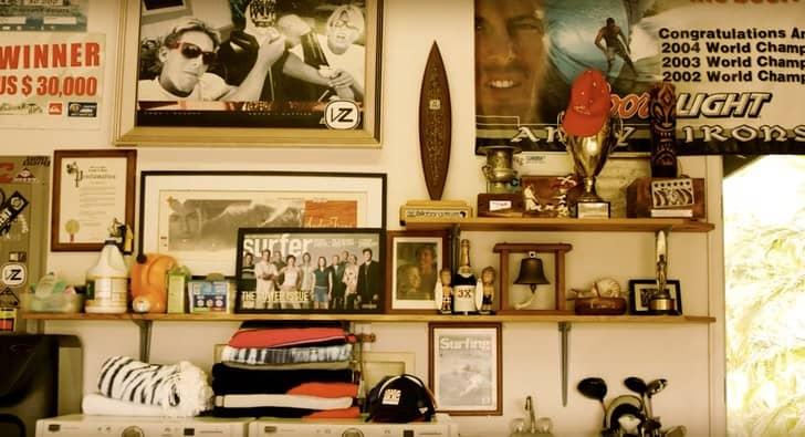 El santuario de uno de los mejores surfistas de todos los tiempos: Andy Irons