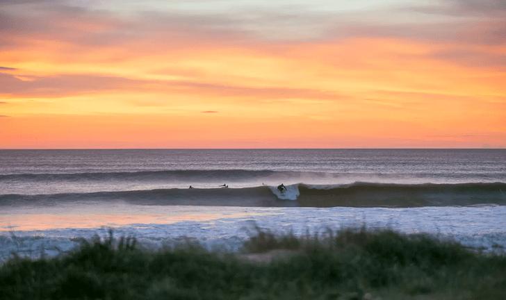 Surf invernal en Cádiz