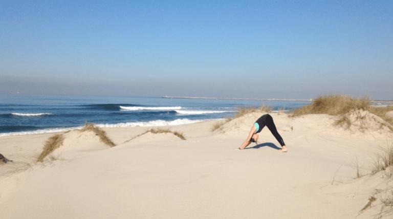Estiramientos de yoga para después del Surf