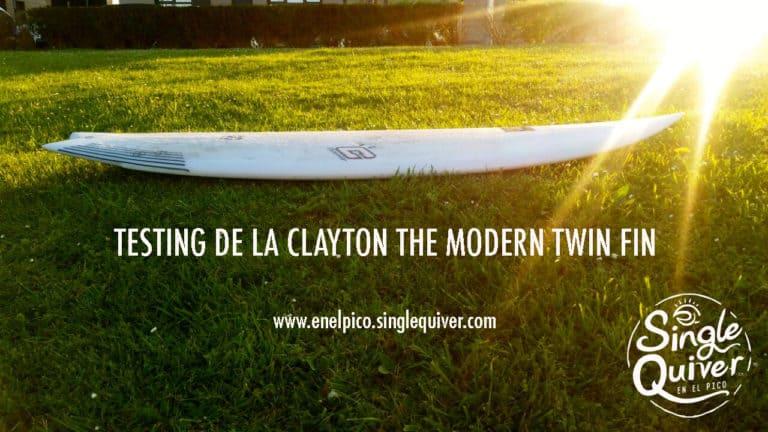 Información y Opinión The Modern Twin Fin Clayton