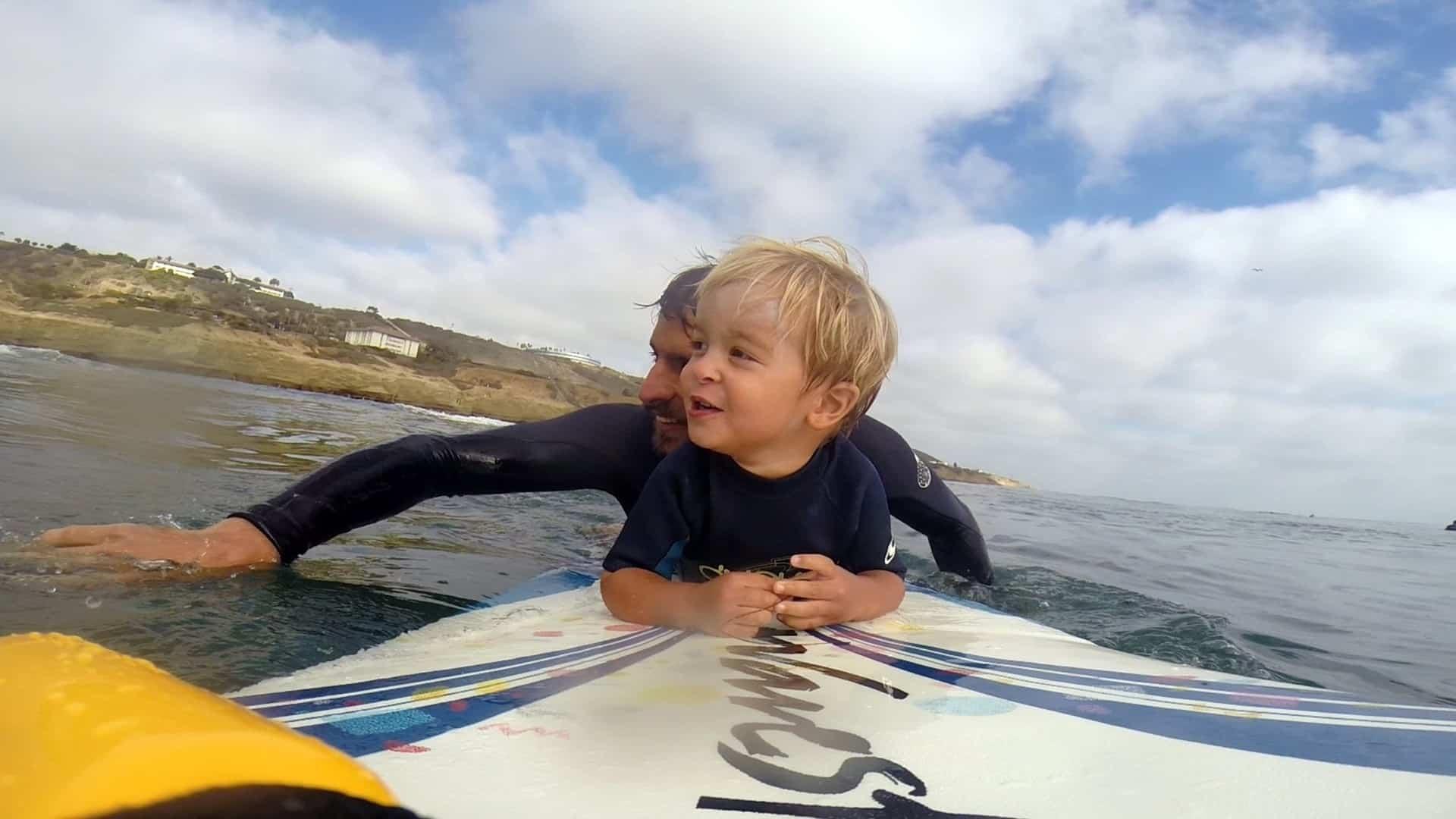 Cody Iddings y su hijo