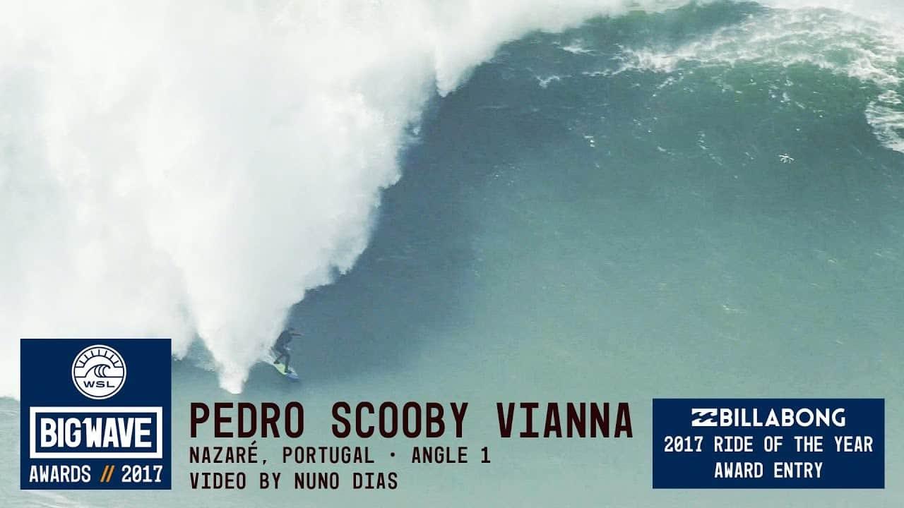 Pedro Scooby olas XXL