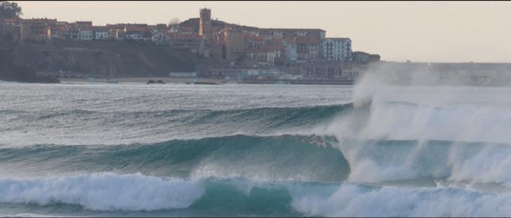Olas de derechas en Euskadi: Zarautz