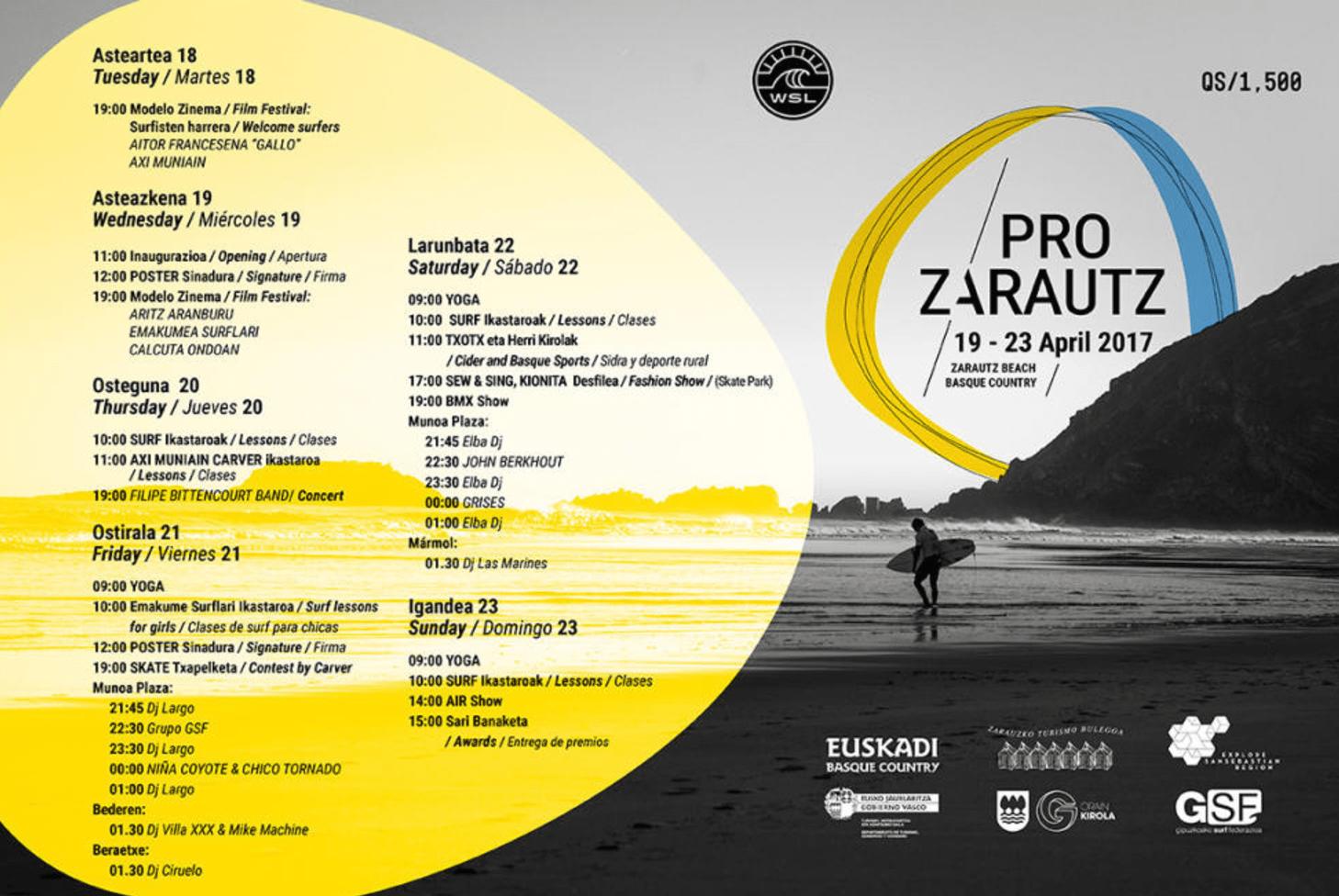Pro Zarautz 2017