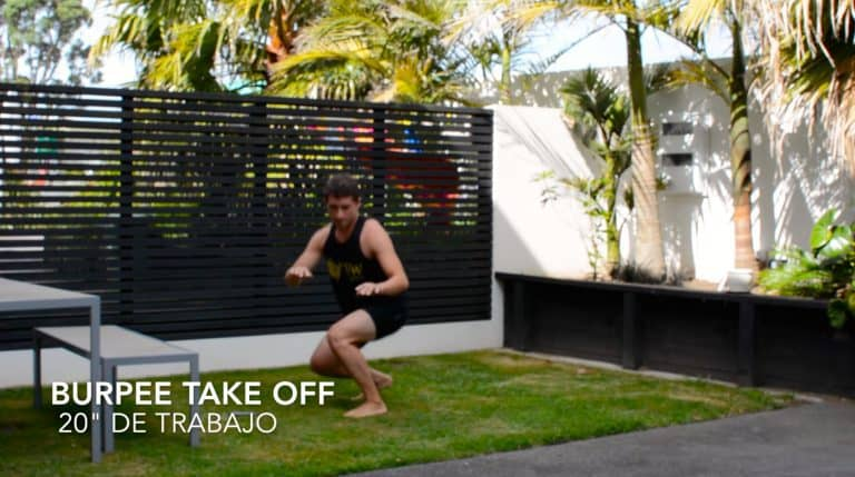 Entrenamiento funcional de surf: Take off II