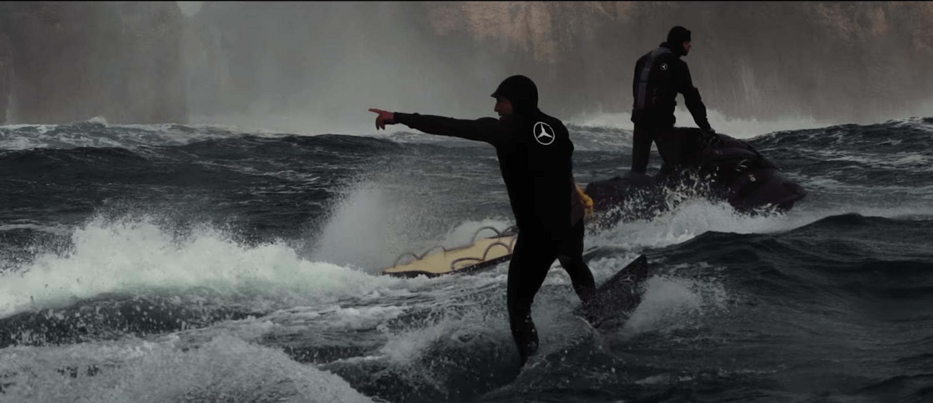 surf mercedes benz